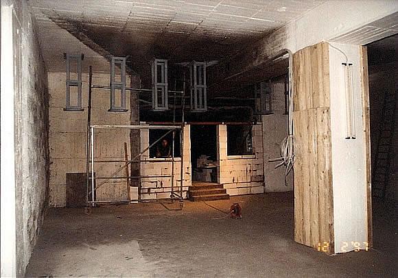 Bau der Anlage 18