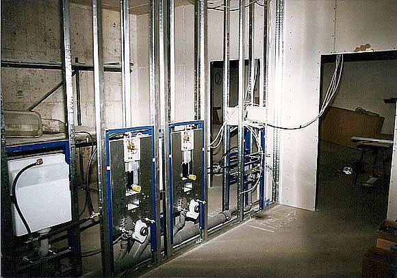Bau der Anlage 12
