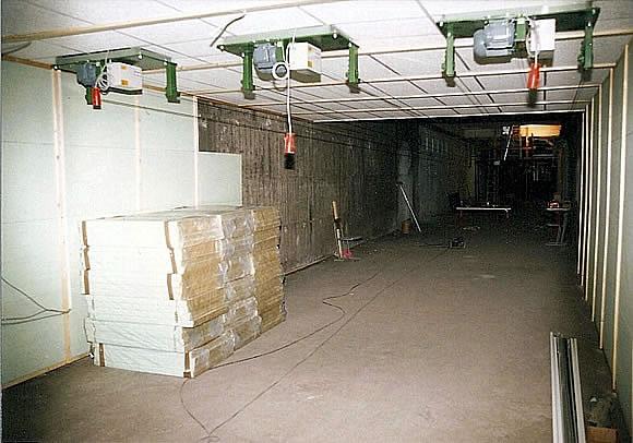 Bau der Anlage 7