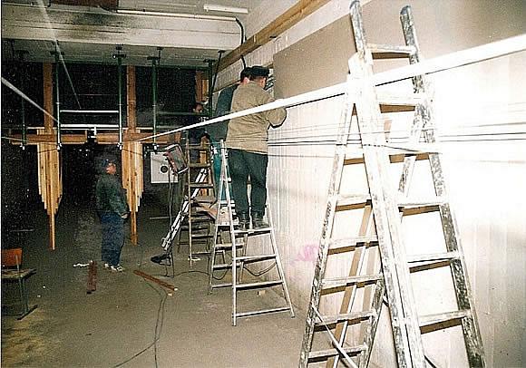 Bau der Anlage 4