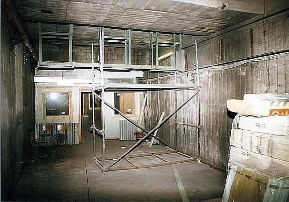 Bau der Anlage 3